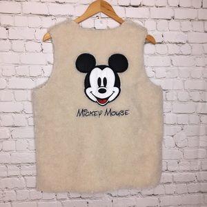 Mikey Mouse Sherpa Vest